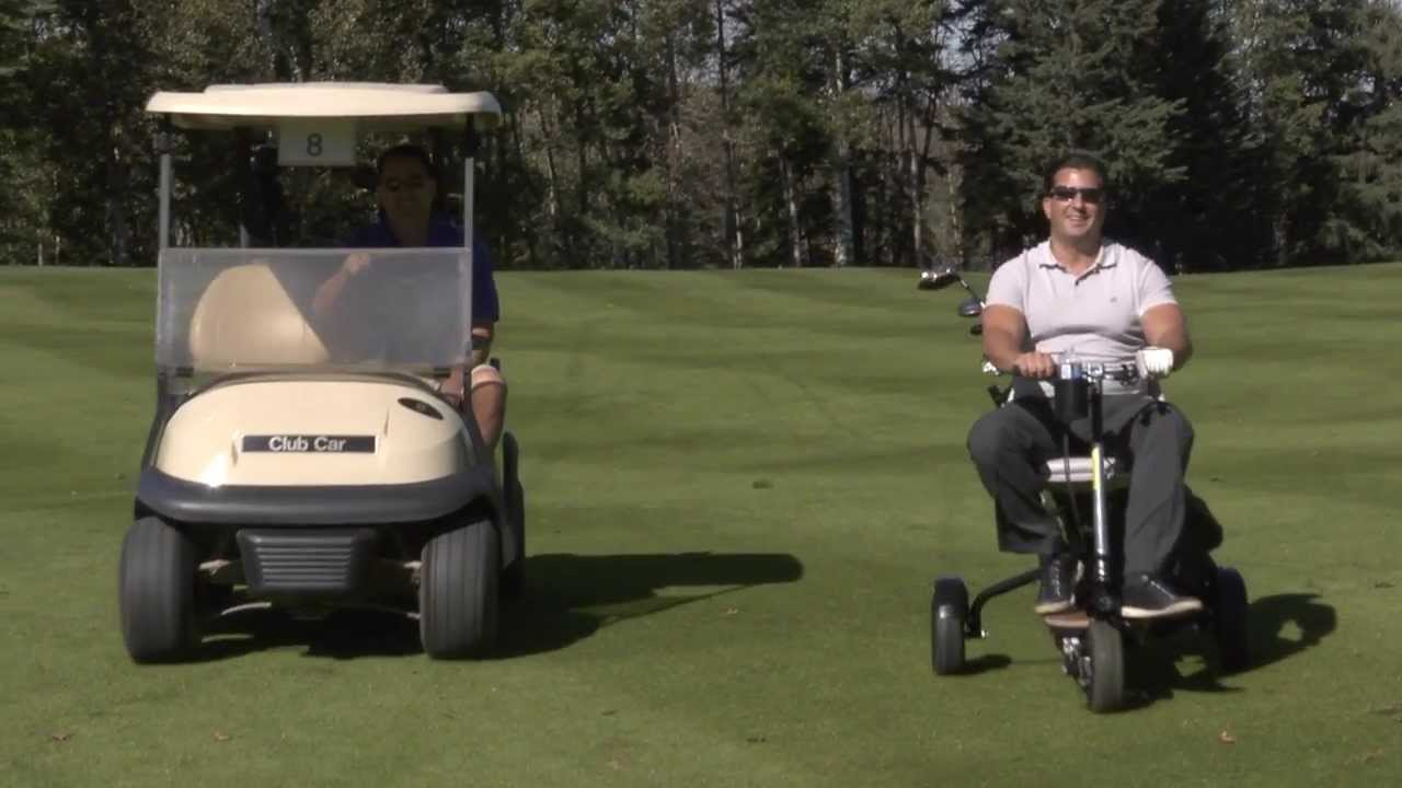 One Person Golf Cart >> The GoCaddy - INVESTMENT OPPORTUNITY - portable single ...