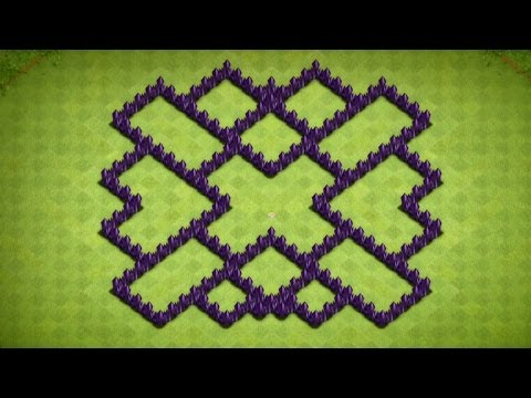 Clash Of Clans - Town Hall 7 Farming Base (The Fallacy) Speed Build - 2014