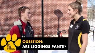 #OnTheProwl -  Are Leggings Pants? (Spring 2014 Episode 1)