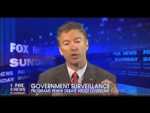 Rand Paul On NSA Spying: 'I'm Going To Challenge This At The Supreme Court' - Fox News 6/9/2013