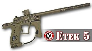 Planet Eclipse Etek 5 Marker Review Unboxing Lone Wolf Paintball Michigan