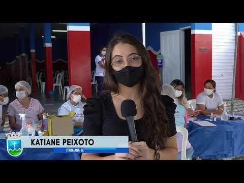Profissionais da segurança pública recebem 1ª dose da vacina