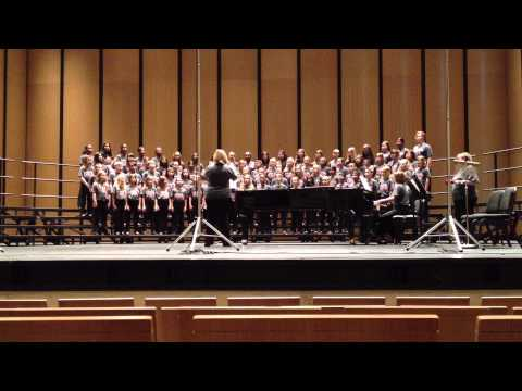 Frisco ISD All City Choir Competition in Dallas May 17, 2013 Song 2