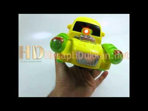 Fruit car renkli ışıklı hareketli araba Hesaplı Dükkan