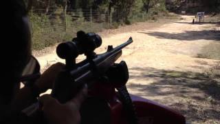Mauser M96 9,3x62 + Aimpoint 9000L (100 m)