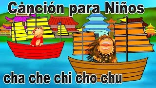 Canción cha che chi cho chu - El Mono Sílabo - Videos Infantiles - Educación para Niños #