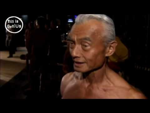 The 74-year-old bodybuilder: Japan