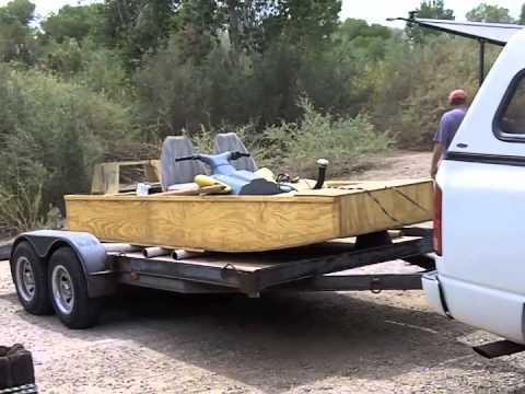 build wood jon boat