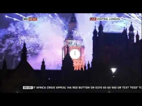 countdown New Year 2012 and celebrations around the World