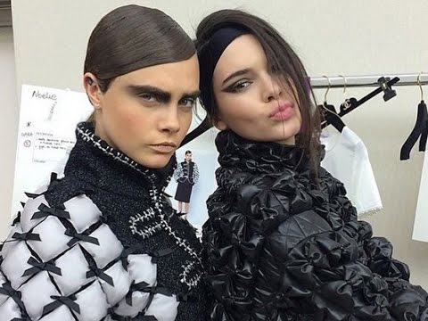 CHANEL Fall 2015 ft Karl Lagerfeld, Cara Delevingne, Kendall Jenner | MODTV