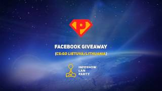 Facebook GIVEAWAY (CS:GO Lietuva/Lithuania)