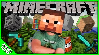 Amazing Cardboard Steve Head And We Travel Into The World Of Minecraft