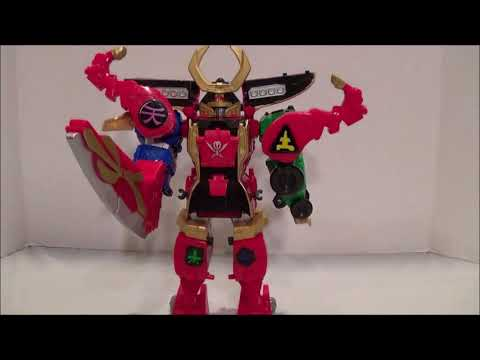 Wild Force Red Lion Review [Power Rangers Super Megaforce]