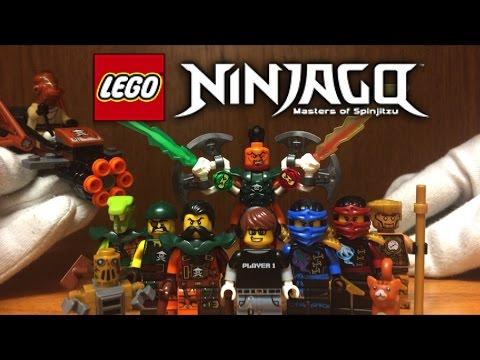 LEGO Ninjago Minifigures Review Lighthouse Siege Skybound Season 6 Nadakhan, Echo Zane, Jay