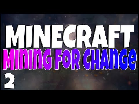 Minecraft MINING FOR CHANGE UHC 'DONATION ITEMS' Ep 2 w/ GiantWaffle, Annemunition & Zach