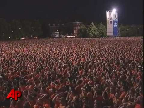 Raw Video: Fans Celebrate Spain's WCup Victory