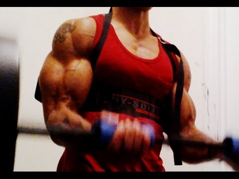 Secret To Bigger Arms - How To Build Big Biceps Fast (big Brandon Carter) video