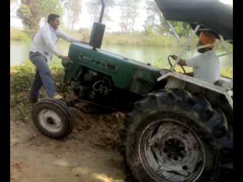 Tractor Stunts