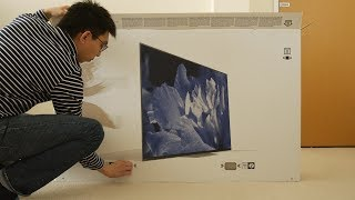 Sony AF8/ A8F OLED TV Unboxing + Picture Settings