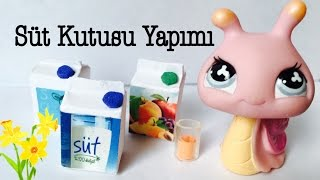 Kendin Yap ❤️ Süt Kutusu Yapımı || Do It Yourself ❤️ How to make a LPS Milk Box