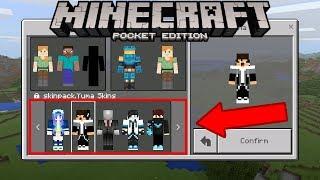 Hướng dẫn cách tạo gói skin cho riêng bạn | Minecraft PE 1.2