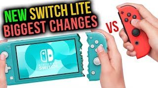 Switch Lite vs Switch: 10 BIGGEST CHANGES
