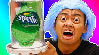 What Happens To Sprite Bottle in a Vacuum Chamber?