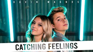 Gavin Magnus - Catching Feelings (Official Music Video) ft. Coco Quinn **FIRST KISS** 💋
