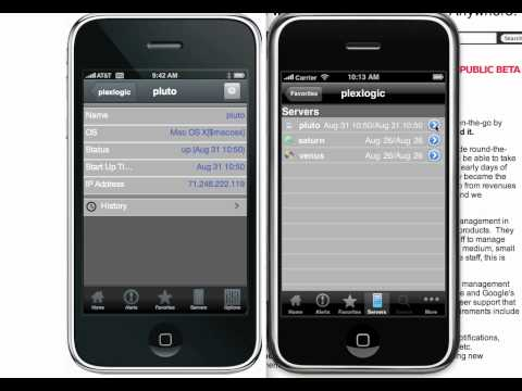 HTML5 Sencha App vs. native iPhone App side by side (HD)