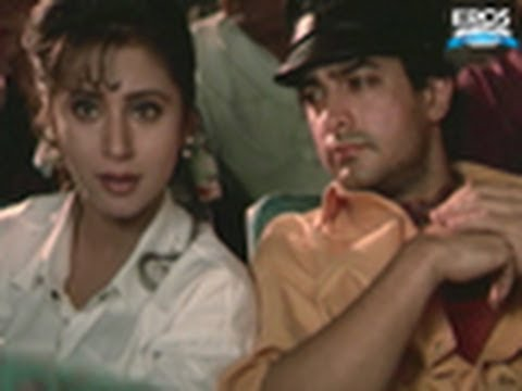 Aamir Khan Misbehaving In Theatre - Rangeela
