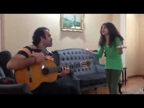دختر خوش صدای ایرانی ثمین بلوریSamin Bolori
