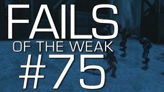 Fails of the Weak: Ep. 75 - Funny Halo 4 Bloopers and Screw Ups! | Rooster Teeth
