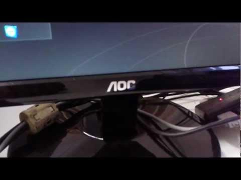Tedy006 - Dicas - Desbloqeuando OSD de monitores AOC LED