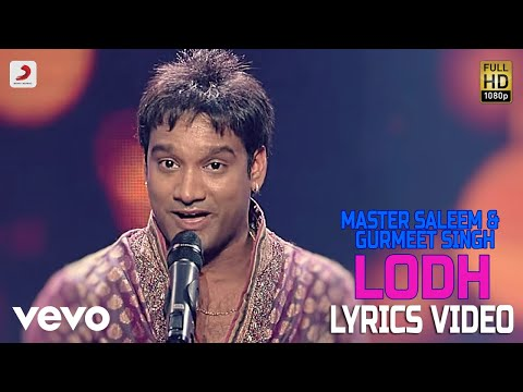 Lodh - Lyrics Video | Master Saleem & Gurmeet Singh