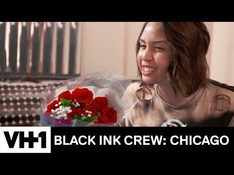 Why Did Phor Send Kat Two Dozen Roses? 'Sneak Peek' | Black Ink Crew: Chicago