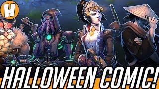 Overwatch Halloween Comic - The Return of Junkenstein! (Voiced + Story Analysis)   Hamme