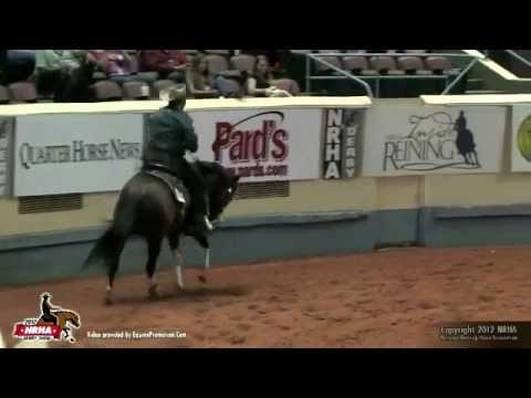 2012 NRHA Open Derby Champion Spooks Gotta Whiz & Shawn Flarida
