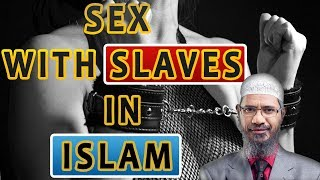 """dr zakir naik latest videos lecture 2017 (is Sex With Slaves are Allowed In Islam """"Peace Tv English"""""""