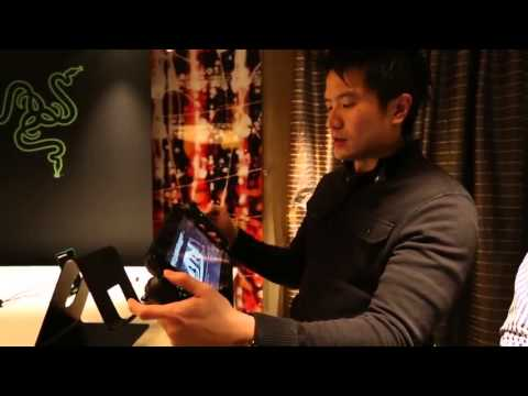 Razer Edge gaming tablet review/ hands on video HD