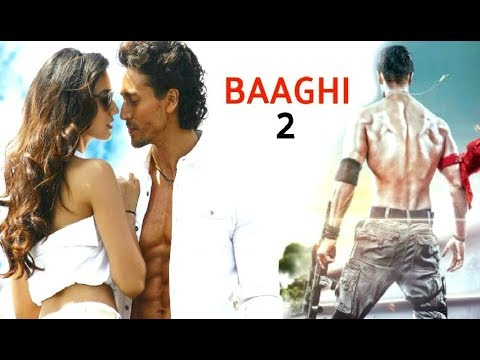 Baaghi 2 First Look Revealed - Tiger Shroff, Disha Patani