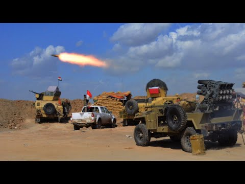 Iraq troops battle ISIS for Tikrit