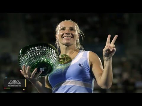 Sydney International Final | Svetlana Kuznetsova Beats Monica Puig In The Finals