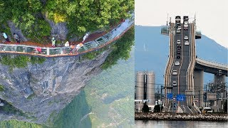 12 Most Terrifying Bridges You Don't Want To Cross  from Mind Boggler