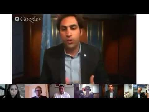 One UN: Uniting for Youth, Ahmad Alhendawi, SG's Envoy on Youth - Google+ Hangout