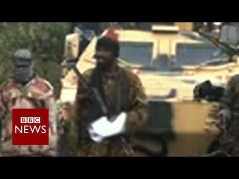 """I abducted your girls"" says Boko Haram's leader - BBC News"
