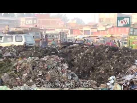 No Proper Dumping in Anantnag