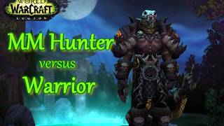 WoW Legion PvP |  Hunter versus Warrior Commentary