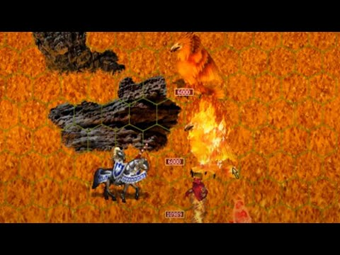 Heroes of Might and Magic III: How to kill God of Fire