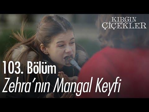 Zehra'nın mangal keyfi - Kırgın Çiçekler 103. Bölüm