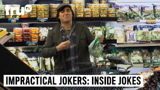 Impractical Jokers: Inside Jokes - Boom! I'm Eating Your Grapes Bro | truTV